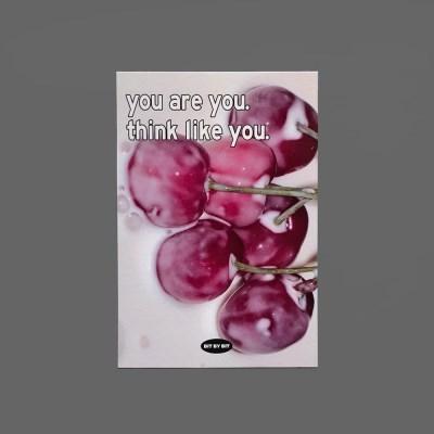 Cherry Milk Postcard