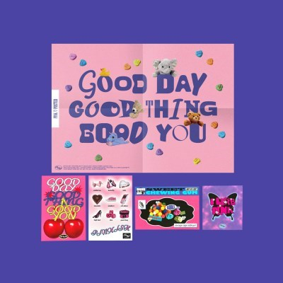 Pink Postcard Set