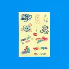 Crayon Sticker