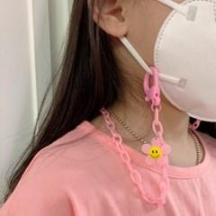 데) 가벼운 꽃 마스크걸이