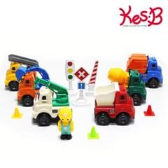 [캐스B] 플레이 특수차량교통놀이세트_(1636033)