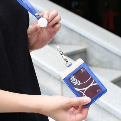 명함 사원증 넥스트랩 Secret 릴홀더 목걸이 카드지갑_(1217913)