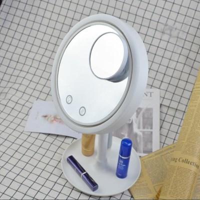 화장거울 화장대 미니선풍기 LED거울 메이크업 조명 거울 선풍기