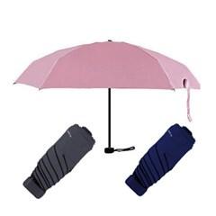 햇빛차단 5단 암막 양산겸용우산 접이식 양우산