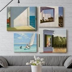 명화 인기 에드워드 호퍼 바다 거실 인테리어 캔버스 그림 액자 11종