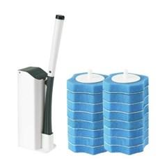 한방에 1회용 변기 청소솔 2세트_(330091)