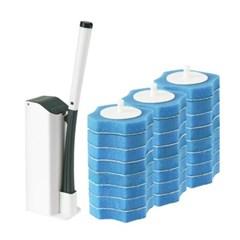 한방에 1회용 변기 청소솔 3세트_(330090)