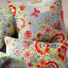 이레IREH 영국 정원 수채화 쿠션 (2colors)