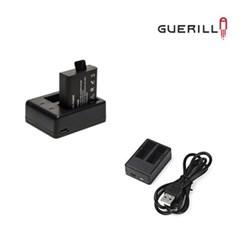 게릴라 액션캠 듀얼 배터리 충전기