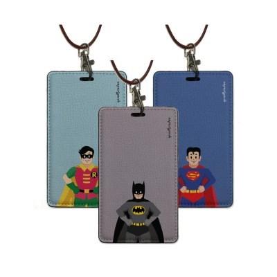 카드.명함케이스 목걸이홀더_Hero man 4color