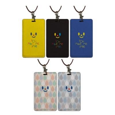 카드.명함케이스/목걸이홀더_Smile 5color