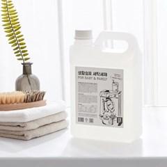 [생활쉼표]착한 세탁세제(2L+펌프) 유아&온가족용