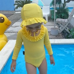 오) 오드리프릴 아동 수영복-보넷포함