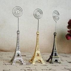 비진 에펠타워 미니어처 메모꽂이 사진홀더_(3083449)