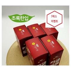 [초록한입] 콜라겐액상스틱 5박스