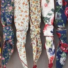 명품 패션 자수 나염 플라워 과일 쁘띠 면 스카프