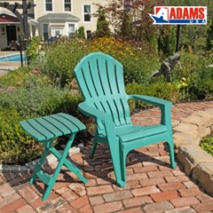 아담스 애디론댁 접이식 야외테이블&의자 세트 (2색상)
