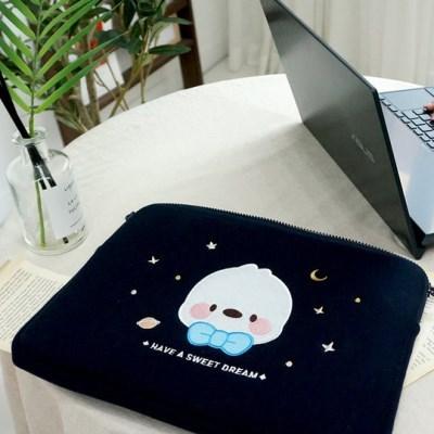 국내 캐릭터 피누 정품 15인치 노트북 파우치