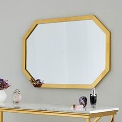 리즈 골드 팔각 화장대 벽거울 900X600_(1944734)