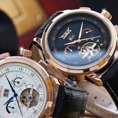 피닉스 남성시계 가죽시계 오토시계 손목시계 JA-16557_(1351494)
