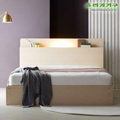라자가구 오브 가인 LED 수납형 Q 침대프레임 DM8854