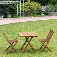 캠핑 접이식 우드 테이블 의자