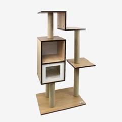 고양이캣타워 S116 원목 냥이집 놀이터 반려묘장난감