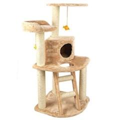 캣 타워 사파리S1 대형 고양이 집 놀이터 하우스