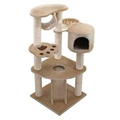 뉴 마이홈 캣 타워 1P 고양이 집 놀이터 스크래쳐