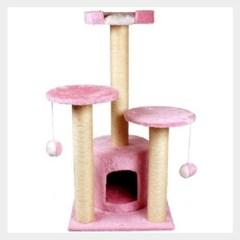 펫 고양이캣타워 트리플하우스 운동기구 놀이터