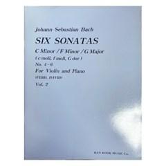 (전시상품)SIX SONATAS C Minor /F Minor /G Major
