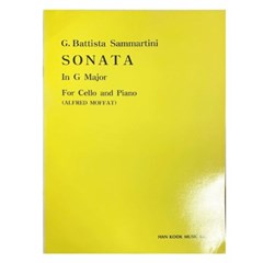 (전시상품)SONATA In G Major For Cello and Piano