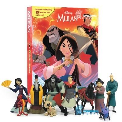 My Busy Books : Disney Mulan (Board book) 피규어북