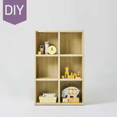한샘 샘 어린이책장 3단 80cm DIY(컬러 택1)