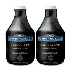 기라델리 초콜렛 소스 2.47kg 2개 세트_(850830)