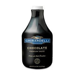 기라델리 초콜렛 소스 2.47kg 6개(1박스)_(850829)