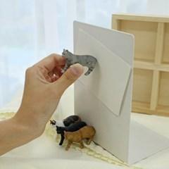 모모팝 고양이 마그넷 냉장고 자석_(1851350)