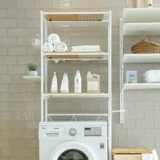텐바이텐X까사마루 스페이스 너비조절 세탁기 선반 3단