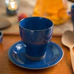 마리 코발트블루 물컵(사이즈선택)