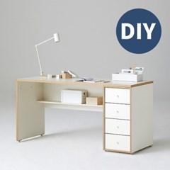 한샘 샘 책상 150cm 하부서랍형 DIY(컬러 택1)