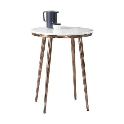 화이트 블랙 인조대리석테이블 다이닝 카페 업소용 원형 마블식탁