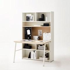 한샘 티오 슬라이딩 콘센트 책상세트 5단 120cm (컬러 택1)