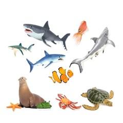 [사파리엘티디] 해양동물 피규어 세트_(1642971)