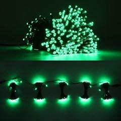 LED 은하수 76구 5조 15W 검정선 무점멸기 (녹색)