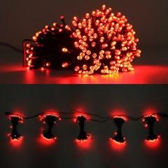LED 은하수 76구 5조 15W 검정선 무점멸기 (적색)