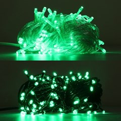 LED 은하수 100구 6W 녹색 무점멸기