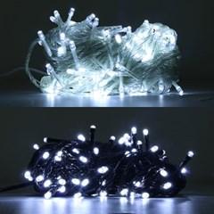 LED 은하수 100구 6W 백색 무점멸기