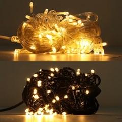 LED 은하수 100구 6W 전구색 무점멸기