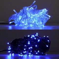 LED 은하수 100구 6W 청색 무점멸기