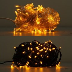 LED 은하수 100구 6W 황색 무점멸기